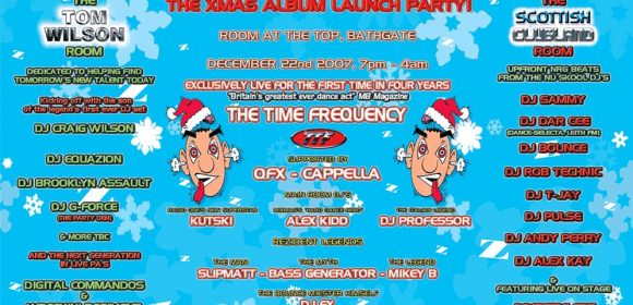 Rezerection Xmas Album Launch Party