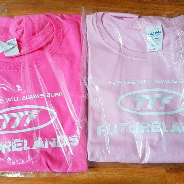 Pink T-Shirts Packaged
