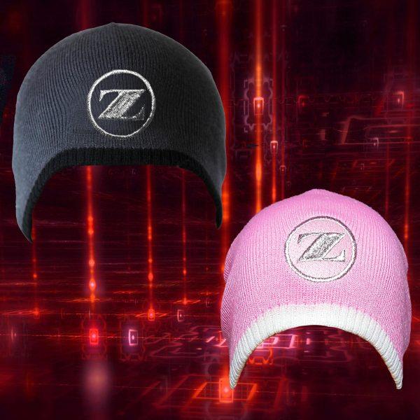 Both beenie hats